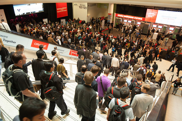 Oracle OpenWorld 2014现场